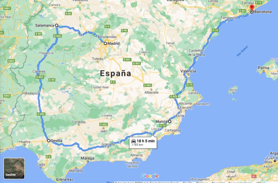 Un vuelo MadridBarcelona emite tanto CO2 como el mismo viaje realizado en coche dando un rodeo por casi toda la península